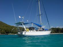 One off Gael 43 : At anchor
